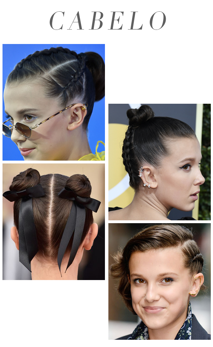Maquiagem Millie Bobby Brown Stranger Things